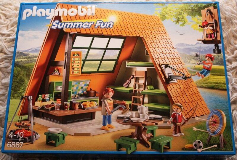 Großes von Feriencamp 6887 von Großes Playmobil ee474b