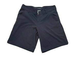 Columbia Womens Size 14 Shorts Large Bermuda Grayish Blue Stretch