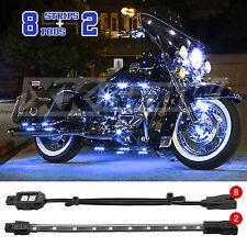 10 pcs LED ElectroPods Engine Motor Light Kit Motorcycle ATV Snowmobile - BLUE