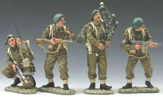 King & Country d día día día 1944 DD052 grupo de comandos británicos Commando Lord Lovat Menta en caja 0f28e5