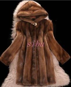 Soprabito Cappotto 6xl Cappotto Donna di Inverno in pelliccia Capispalla 2018 Cappotto visone Caldo lungo OzwxqB81