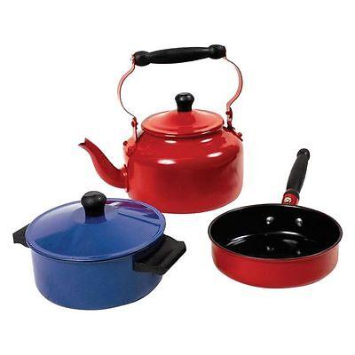 NEW Micki Coloured Tin Cookware Set