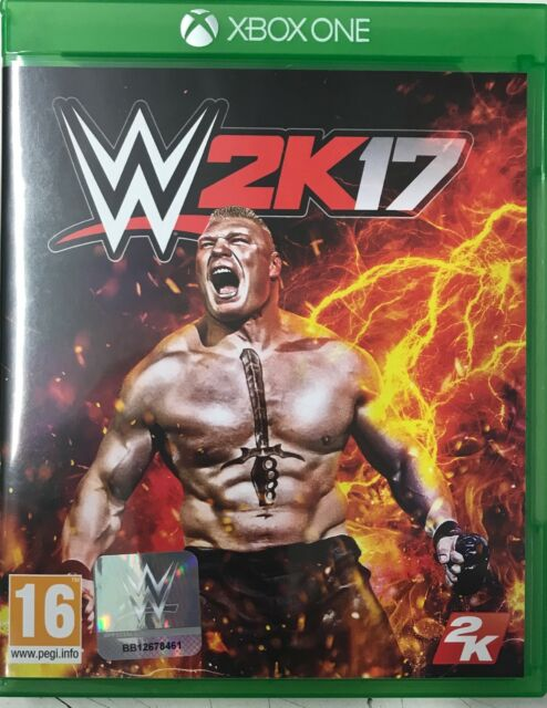 WWE 2K17 (Microsoft Xbox One) Preowned, In Excellent Condition Free UK P&P