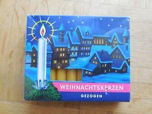 20 Weihnachts Christ Baum Leuchter Kerzen honiggelb retro gezogen 10,5cm NEU OVP - Nürnberg, Deutschland - 20 Weihnachts Christ Baum Leuchter Kerzen honiggelb retro gezogen 10,5cm NEU OVP - Nürnberg, Deutschland