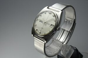 OH-Vintage-1969-JAPAN-SEIKO-LORD-MATIC-WEEKDATER-5606-7050-23Jewels-Automatic