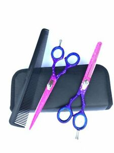 5-5-Pro-Hair-Cutting-Thinning-Scissors-Set-Shears-Barber-Salon-Hairdressing