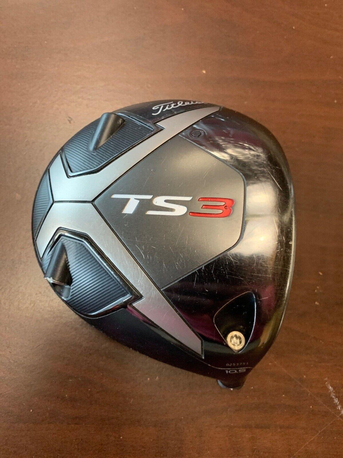 Titleist TS3 10.5 ° cabeza de controlador sólo 6418064