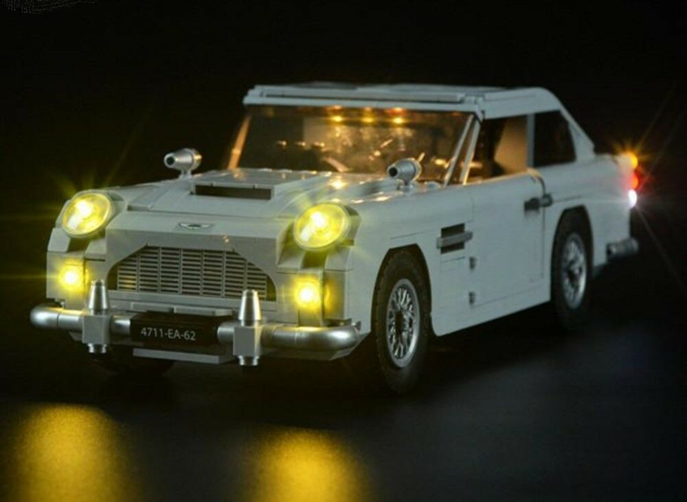 JMAG LIGHT UP KIT FOR LEGO 10262 ASTON MARTIN DB5 + USB AA POWER BANK NEW