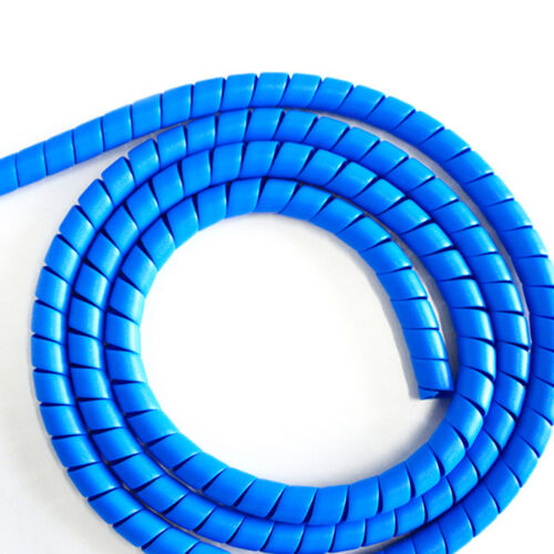 EG/_ Inner Diameter Polypropylene Spiral Wire Wrap Desktop Cable Manage Trustful