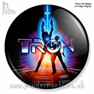 TRON-Retro-Movie-Badge-Magnet-45mm
