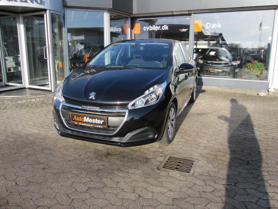 Peugeot 208 1,2 VTi 82 Active Benzin modelår 2017 km 36000