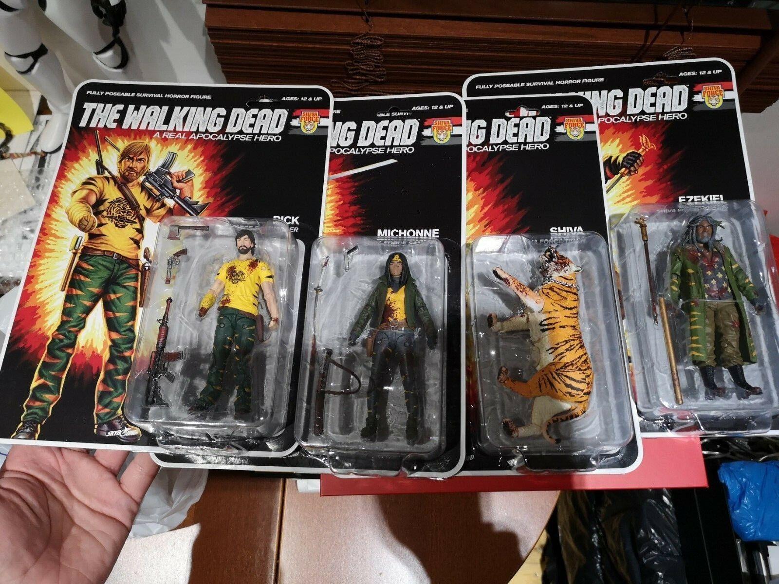 Walking Dead Action Figures GI Joe Style Style Style lot b4f3ef
