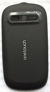 Couvercle-batterie-Alcatel-une-seule-Touche-890D-Noir-Utilise-Tres-bon-etat