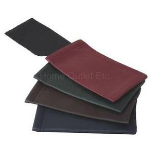 dae9cd552d38 Image is loading Spring-Top-Vinyl-Eyewear-Pouch-with-Microfiber-Cloth-