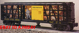 LIONEL-19822-PORK-DISPATCH-amp-16687-U-S-MAIL-OPERATING-BOXCARS-1994-1995-NEW