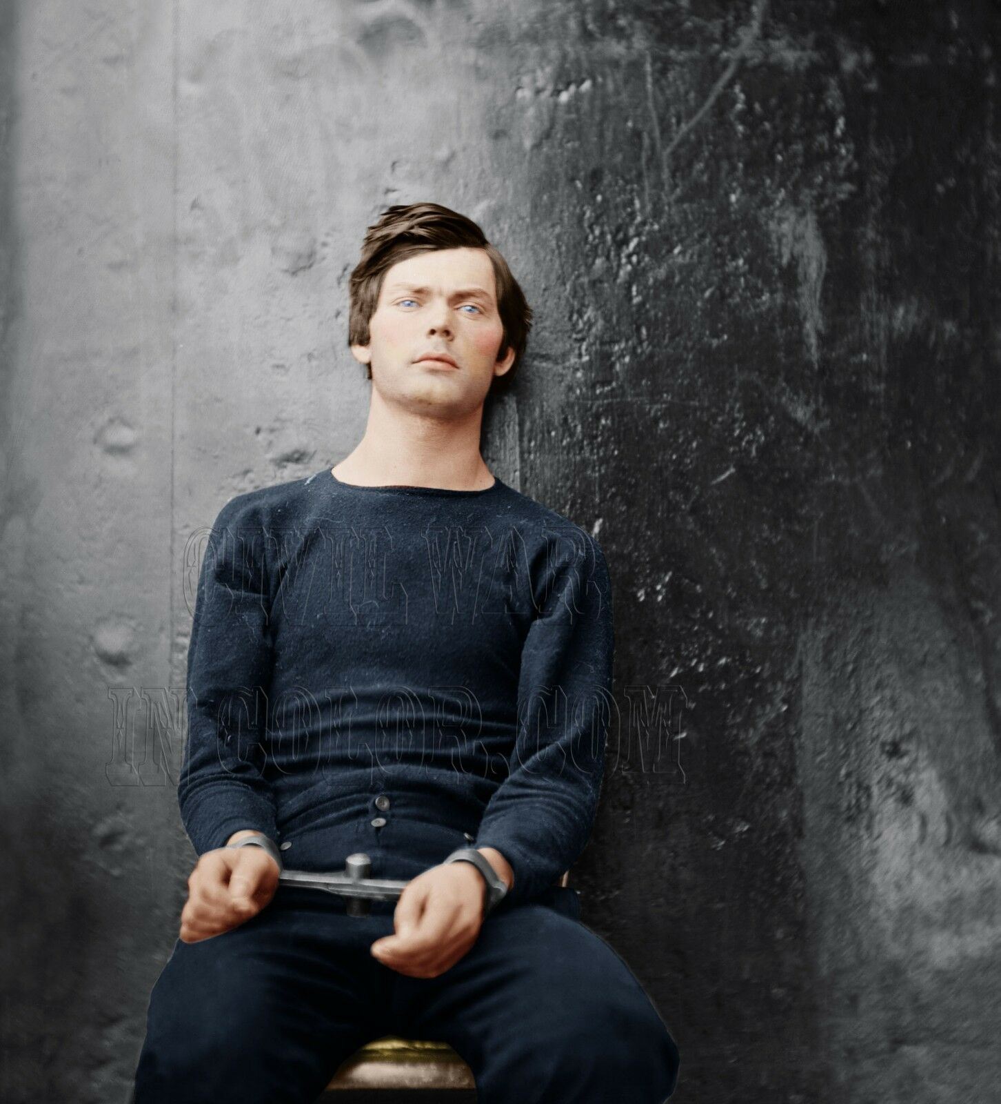 Lewis Powell Assassination Conspirator Seward Seward Seward Farbe Tinted photo Civil War 04208 c9ac21