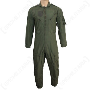Original-US-Nomex-Flight-Suit-American-Military-Surplus-Overalls-Green-Pilot