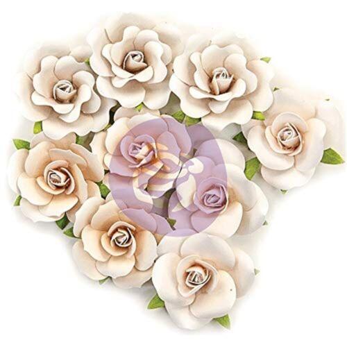 Prima Marketing Pretty Pale Paper Flowers 9//pkg-dry Desert