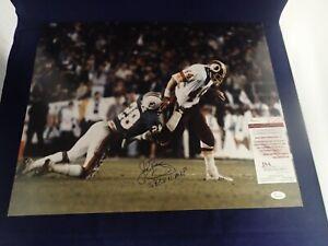 John-Riggins-Autograph-Signed-Redskins-16x20-Photo-W-SB-XVii-MVP-JSA-W683769