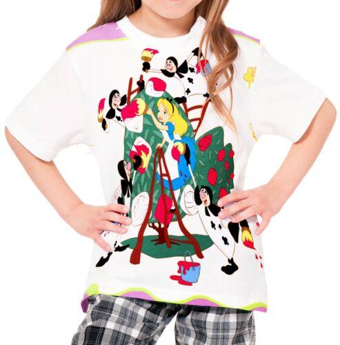 Alice In Wonderland Girls Kid Youth T-Shirt Tee Age 3-13 New