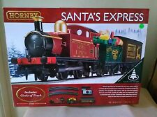 Hornby R1185 Santa Express train set BNIB + free Woodlands Scenics DVD