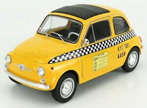 SOLIDO FIAT | 500 TAXI NYC NEW YORK CITY 1965 | YELLOW