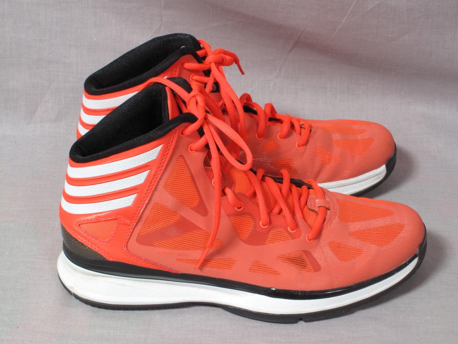 Gli uomini sono le adidas arancione   bianco, 8 8 8 lace up sprint web frame | Terrific Value  8e4c1a