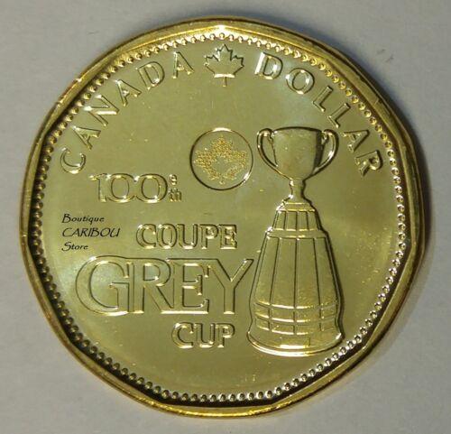 2012 Canada Grey Cup Loonie BU