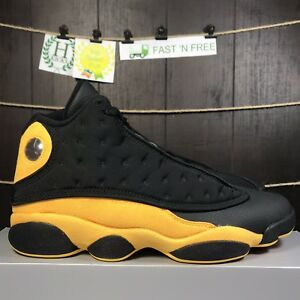 watch 5fad3 26c56 Details about Nike Air Jordan XIII 13 Retro Melo Class Of 2002 MBP Black  Yellow 414571 035 13