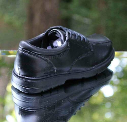 Sperry Nathaniel Oxford Black Leather CB36048 Toddler Little Kid Big Kid Shoes