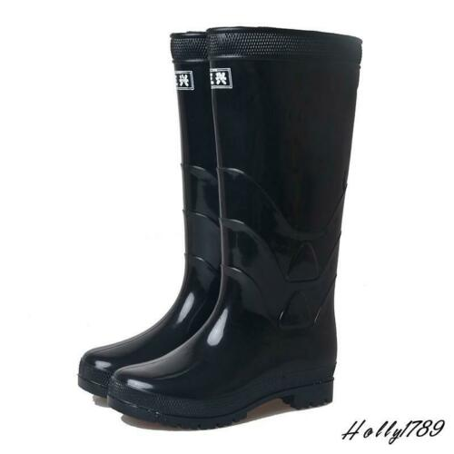 Men's Rubber Rain Boots Anti-Skid Waterproof Water Shoes Outdoor Knee High  Shoes innovatis-suisse.ch