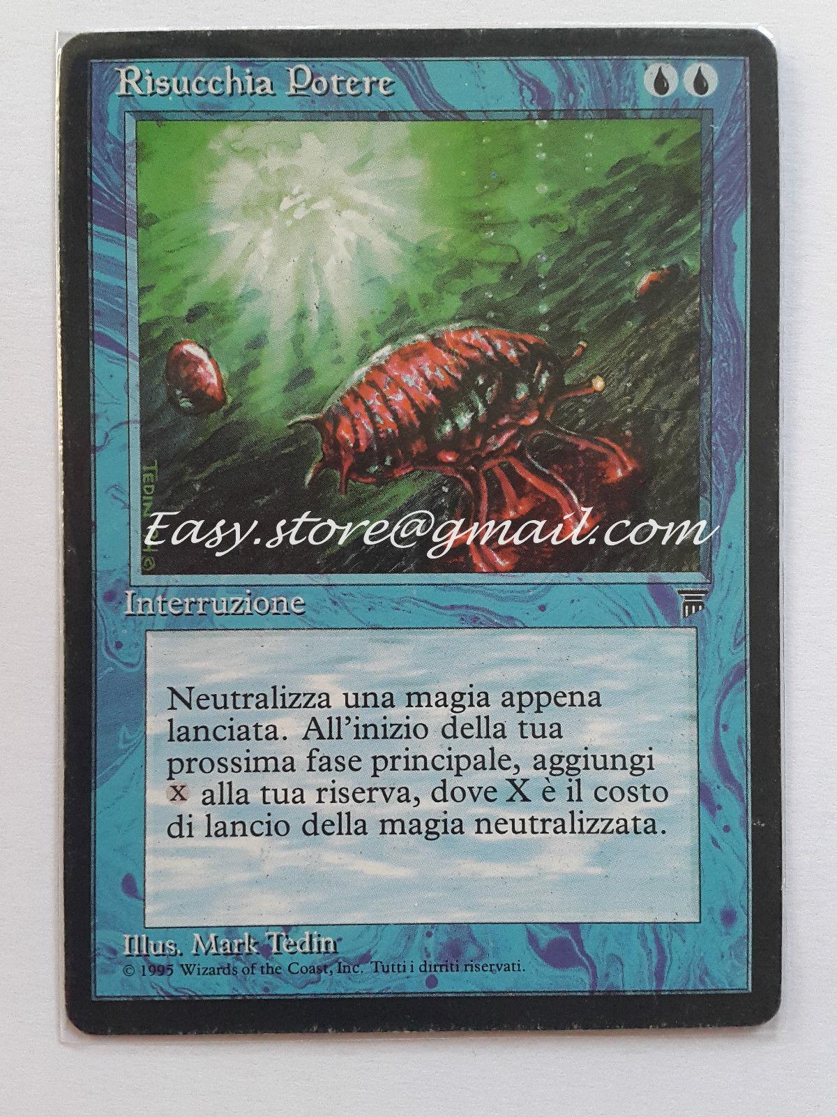 'accord macht -' manasauger 'ita - mtg magie