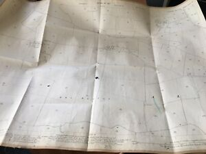 1927-Map-East-Carlton-Bewick-Hall-Vintage-Mancave-Office-Drains-Withernwick