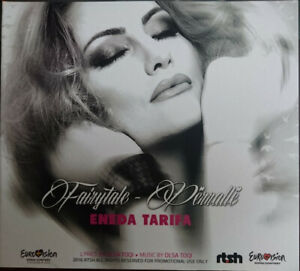 2021 Eurovision - Albania 2016. Fairytale - Eneda Tarifa. ( Promo CD's + DVD )