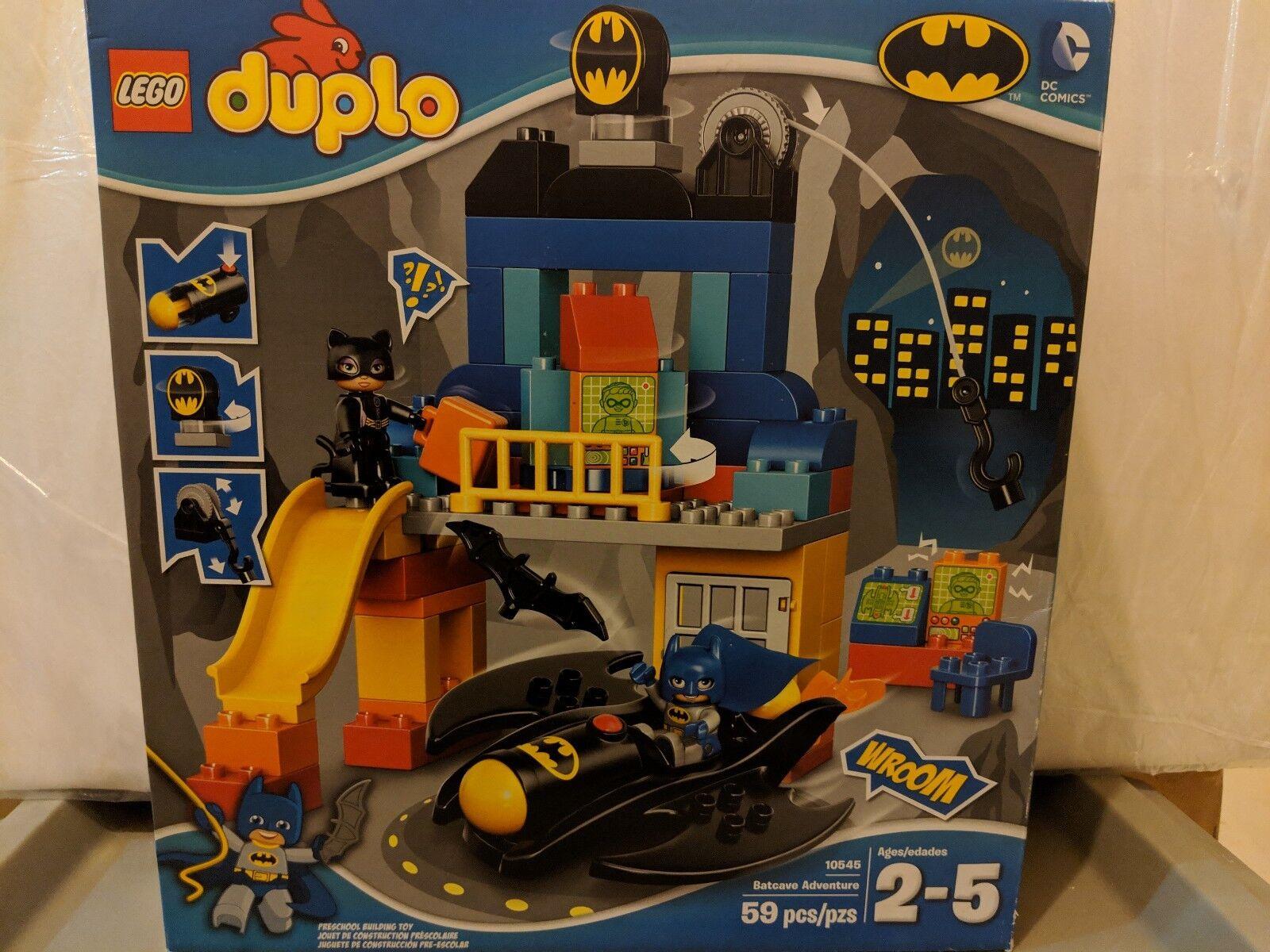 New in Sealed Box - Duplo - Lego Lego Lego Batcave Adventure 10545 b0a73f