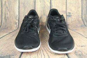 Nike-Flex-2016-RN-Running-Shoes-Sneakers-Black-White-830369-001-Mens-SZ-14