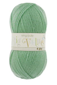 KING-COLE-BIG-VALUE-4-PLY-Various-Colours