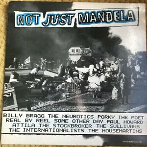 Not-Just-Mandela-Vinyl-LP-Compilation-Album-G-Fold-NM-Complete-1986
