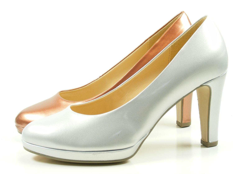 Gabor 61-270 chaussures femmes plateforme perlato verni Escarpins Largeur F