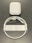 Apple Airpods OEM Charging Case Genuine Replacement +OEM NEW LIGHTNING USB A1602