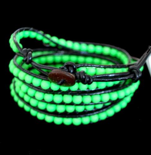 Armbänder Uhren & Schmuck Luxus Lederarmband Wickelarmband