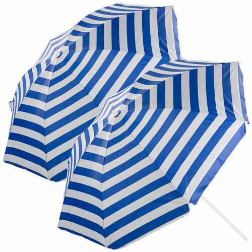 Tasche Ø160cm 2er-Set 2-teilige Sonnenschirme mit Sonnenschutz UV30+