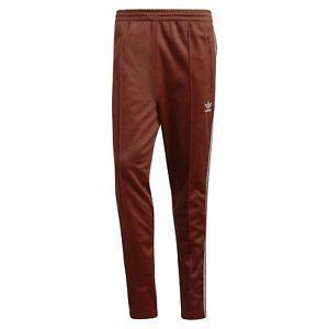 sale free shipping fresh styles Details zu Adidas Original HERREN Beckenbauer Jogginghose Weinrot Retro  Vintage Neu mit