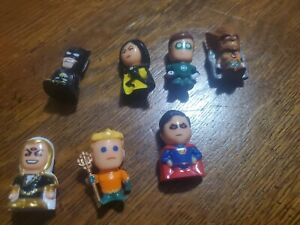 Chibis Justice League And Other Hero Figures Lot Of 7