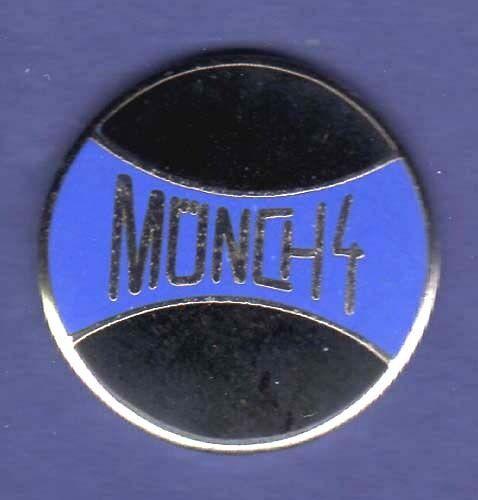 MUENCH Münch MUNCH GERMAN MOTORCYCLE HAT PIN LAPEL PIN ENAMEL BADGE #2155