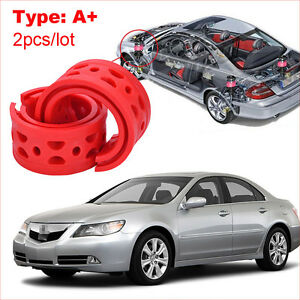 2pcs type A+ Front /Rear Car Shock Absorber Spring Bumper Power Cushion Buffer