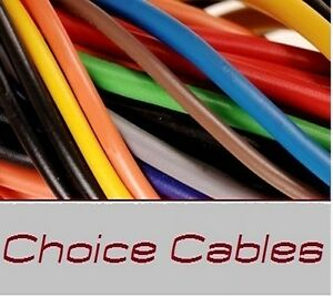 10M 1mm 16Amp 12v AUTO CABLE CAR WIRING LOOM WIRE AUTOMOTIVE BY THE METER