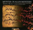 Meyster Ob Allen Meystern (CD, Apr-2009, Passacaille)