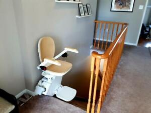 Need a used stair lift?! Installed with warranty. Also chair removals!! Acorn Stannah Bruno Stairlift Chairlift Glide Belleville Belleville Area Preview