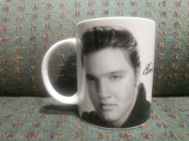 Elvis Presley The King Ceramic Coffee Mug Cup 330mL King of Rock and Roll